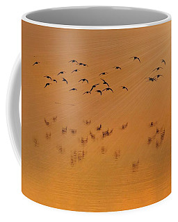 Coffee Mug featuring the photograph Left Behind by Laura Ragland