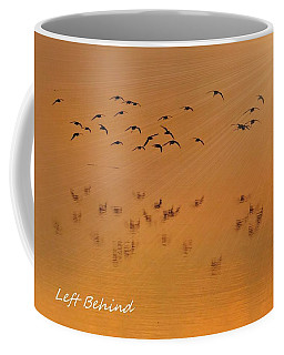 Coffee Mug featuring the photograph Left Behind Too by Laura Ragland