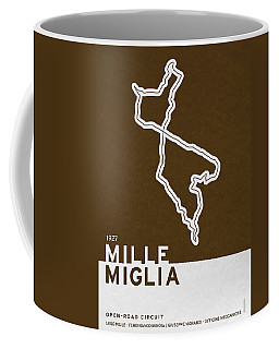 Legendary Races - 1927 Mille Miglia Coffee Mug