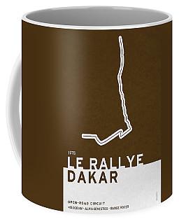 Legendary Races - 1978 Le Rallye Dakar Coffee Mug