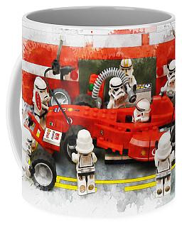 Lego Pit Stop Coffee Mug
