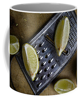 Lemon And Grater Coffee Mug