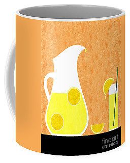 Lemonade And Glass Orange Coffee Mug