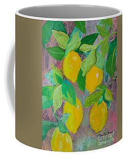 Lemons On Lemon Tree Coffee Mug