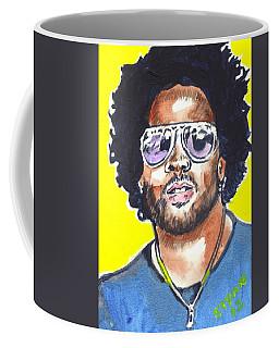 Lenny Kravitz Coffee Mug by Bryan Bustard