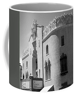 Coffee Mug featuring the photograph Lensic Bw by Jemmy Archer