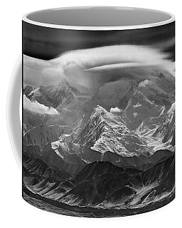 101366-lenticular Cloudcap Over Mt. Mckinley Coffee Mug