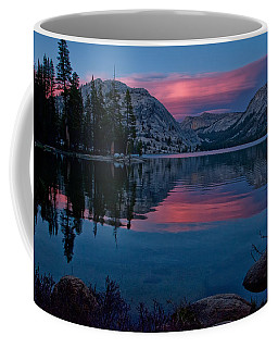 Lenticular Sunset At Tenaya Coffee Mug