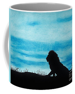 Leo At Sunset Coffee Mug