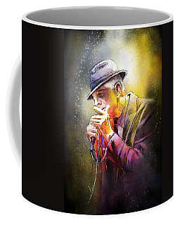 Leonard Cohen 02 Coffee Mug