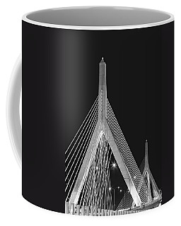 Leonard P. Zakim Bunker Hill Memorial Bridge Bw II Coffee Mug