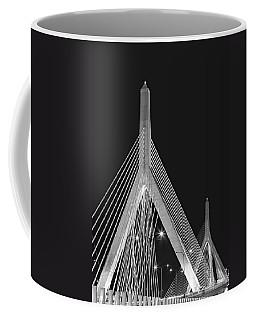 Leonard P. Zakim Bunker Hill Memorial Bridge Bw II Coffee Mug