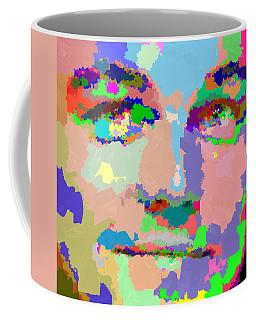 Leonardo Dicaprio - Abstract 01 Coffee Mug