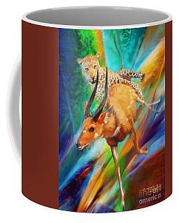 Leopard Attack Coffee Mug