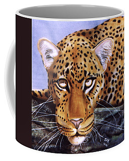 Leopard In A Tree Coffee Mug