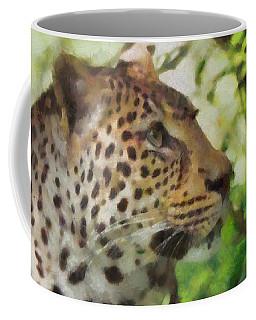 Leopard In The Wild Coffee Mug