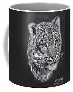 Adams Leopard - Pastel Coffee Mug by Adam Olsen