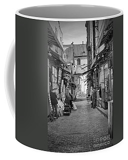Coffee Mug featuring the photograph Les Artistes by Eunice Gibb