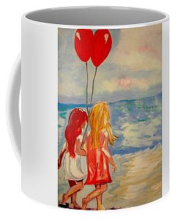 Les Ballons Rouges Coffee Mug