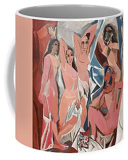 Les Demoiselles D Avignon Coffee Mug