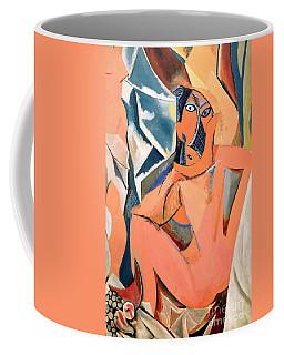 Les Demoiselles D'avignon Picasso Detail Coffee Mug