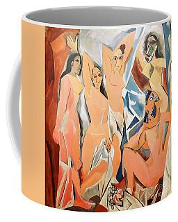 Les Demoiselles D'avignon Picasso Coffee Mug