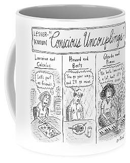 Lesser-known 'conscious Uncouplings Three Panels Coffee Mug