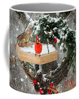 Coffee Mug featuring the photograph Let It Snow by Nava Thompson