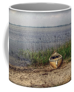 Coffee Mug featuring the photograph L'etang by Hanny Heim
