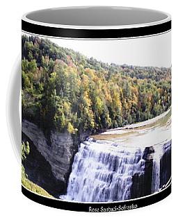 Letchworth State Park Middle Falls Panorama Coffee Mug