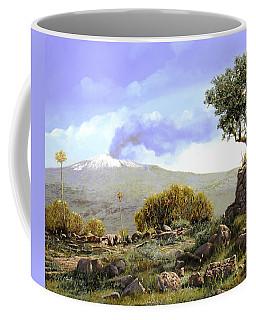 l'Etna  Coffee Mug