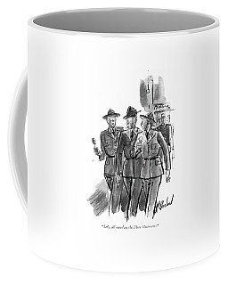 Let's Call Ourselves The Three Musketeers Coffee Mug
