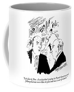 Let's Face Coffee Mug