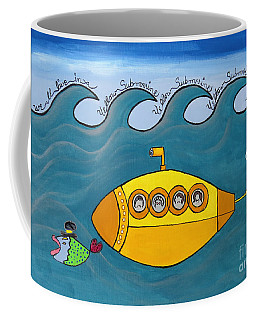 Lets Sing The Chorus Now - The Beatles Yellow Submarine Coffee Mug