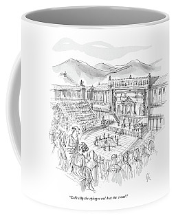 Let's Skip The Epilogue And Beat The Crowd Coffee Mug