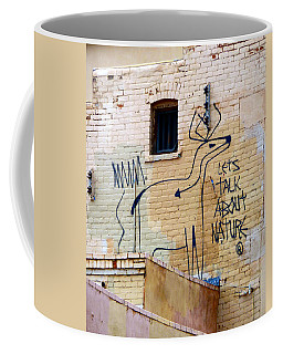 Let's Talk About Nature Coffee Mug
