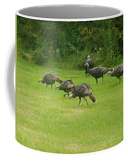 Let's Turkey Around Coffee Mug