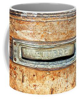 Lettere Letters Coffee Mug