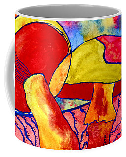 Letting My Freak Flag Fly Coffee Mug by Beverley Harper Tinsley