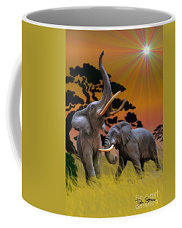 Leviathans Of The Land Coffee Mug