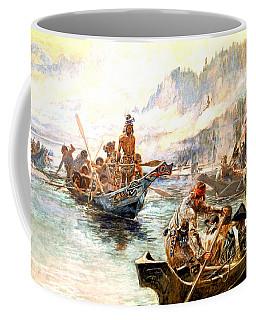 Lewis And Clark On The Lower Columbia  Coffee Mug