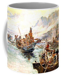 Lewis And Clark On The Lower Columbia  Coffee Mug