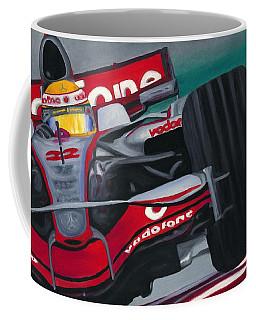 Lewis Hamilton F1 World Champion 2008 Coffee Mug