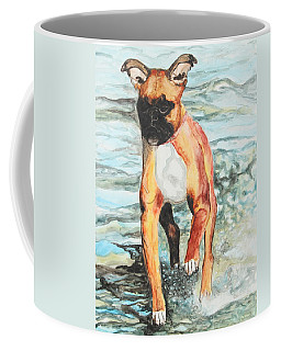 Coffee Mug featuring the painting Leyla by Jeanne Fischer