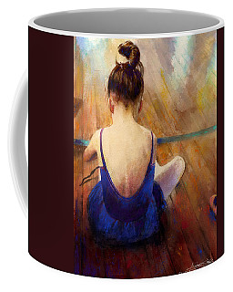 Coffee Mug featuring the painting LG by Andrew King