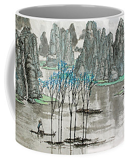 Li River In Spring Coffee Mug