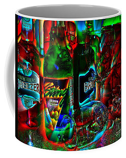 Libations Coffee Mug by Linda Bianic