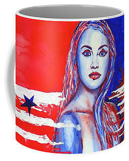 Liberty American Girl Coffee Mug