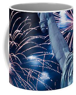Liberty Fireworks Coffee Mug