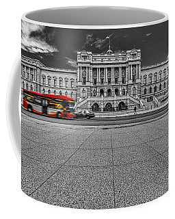 Coffee Mug featuring the photograph Library Of Congress by Peter Lakomy
